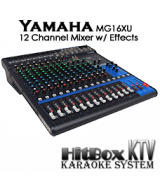 Yamaha MG16XU 12 Channel Mixer w/ Effects